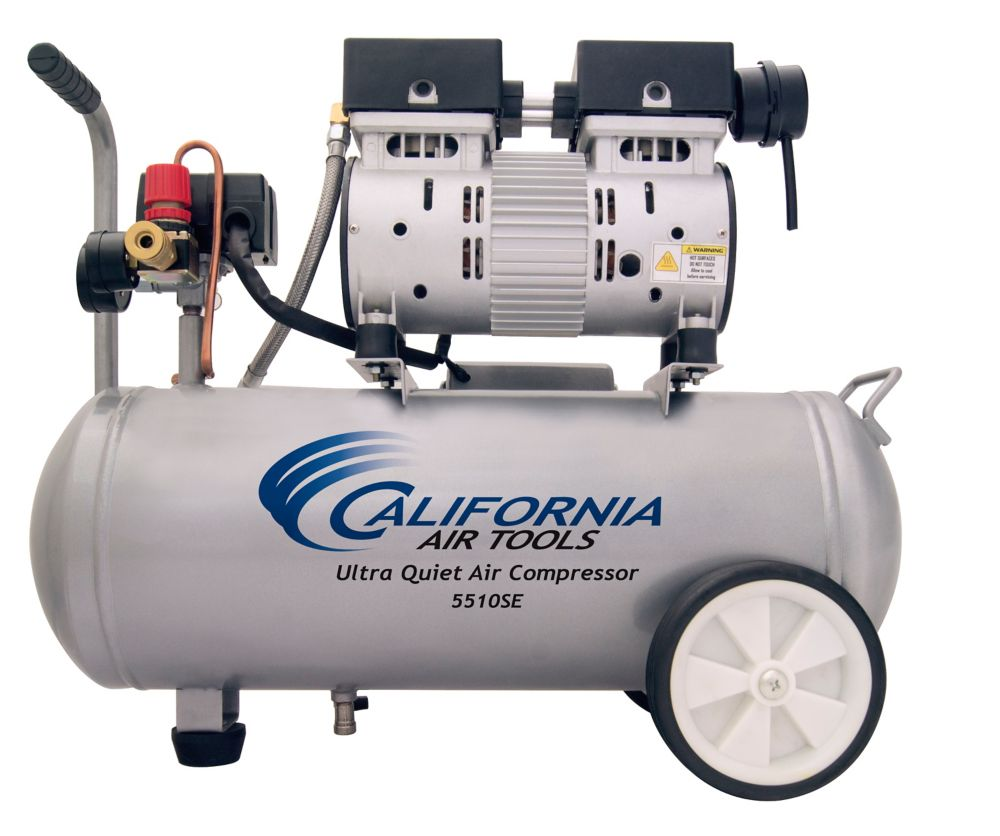 21L 1.0 HP Ultra Quiet and Oil-Free Air Compressor