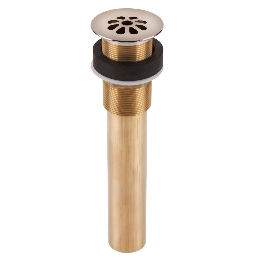decorative drain de douche a 8 trous sans egoutoir en nickel