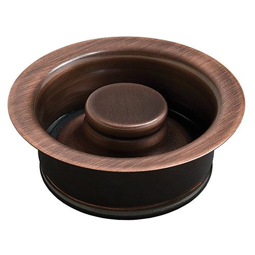 3.5 drain de cuisine d'évacuation de vidange en laiton massif avec bouchon en cuivre antique