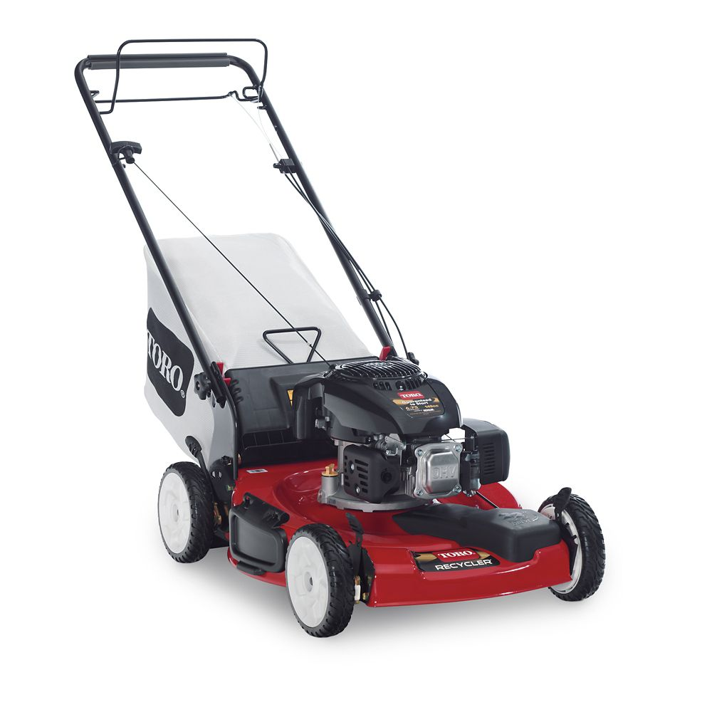 22 Inch Recycler Low-Wheel Self-Propelled Mower With Kohler Engine