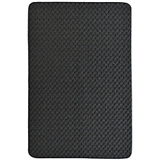 Charcoal Concept  2 Feet X 3 Feet Scatter Mat