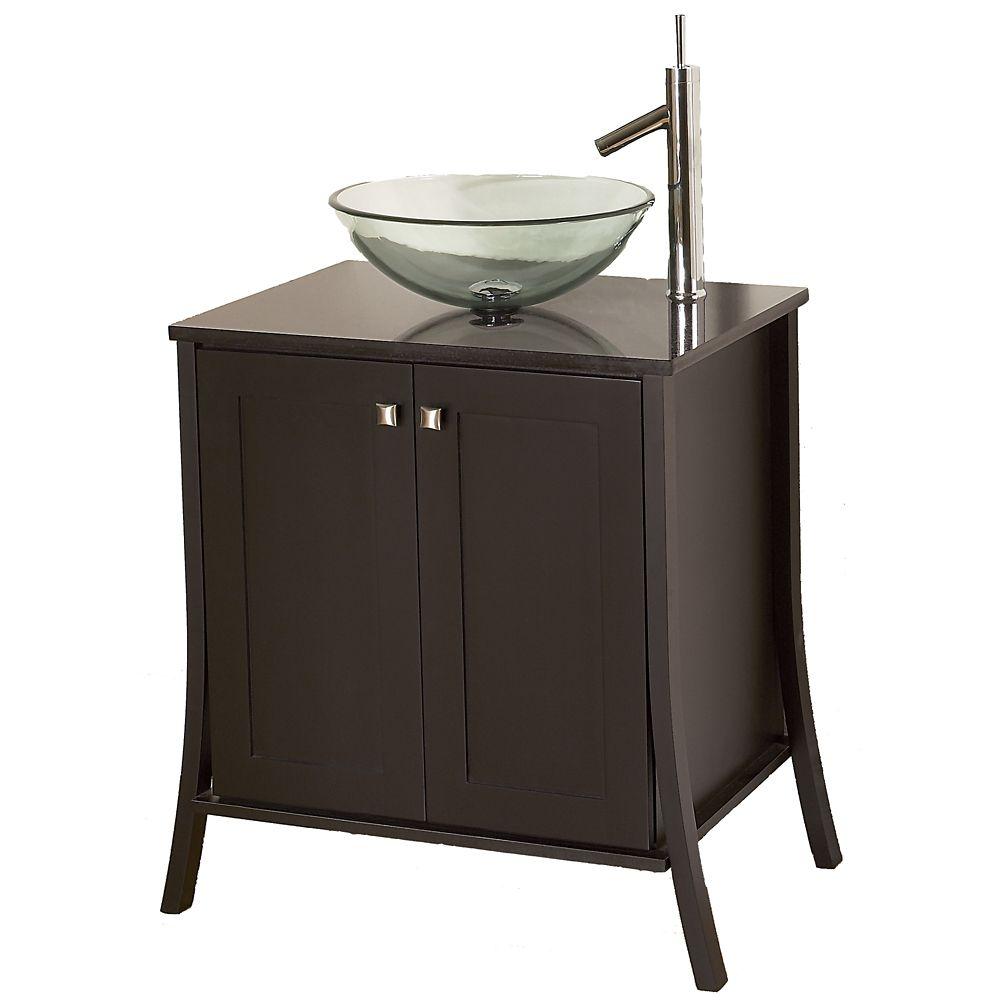 Ensemble de meuble-lavabo Continental de 78,7 cm (31 po) larg.