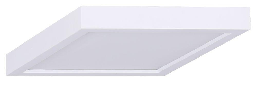 7 Inch Square LED White Disk Light
