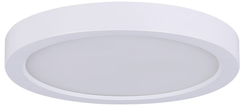 Flush mount ceiling lights the home depot canada 7 inch round led white disk light mozeypictures Images