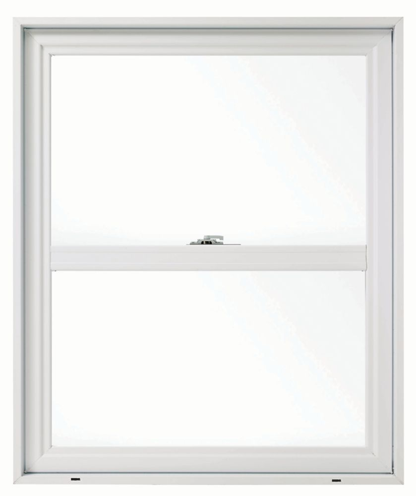 SOLENSIS 24 Inch X 36 Inch Vinyl Single Hung Window with 4 1/2 Inch Frame - ENERGY STAR®