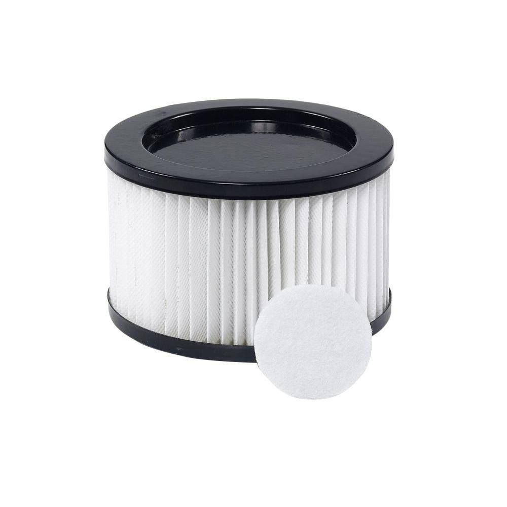 Filtre de rechange haute efficacité pour aspirateur de cendres RIDGID DV0500