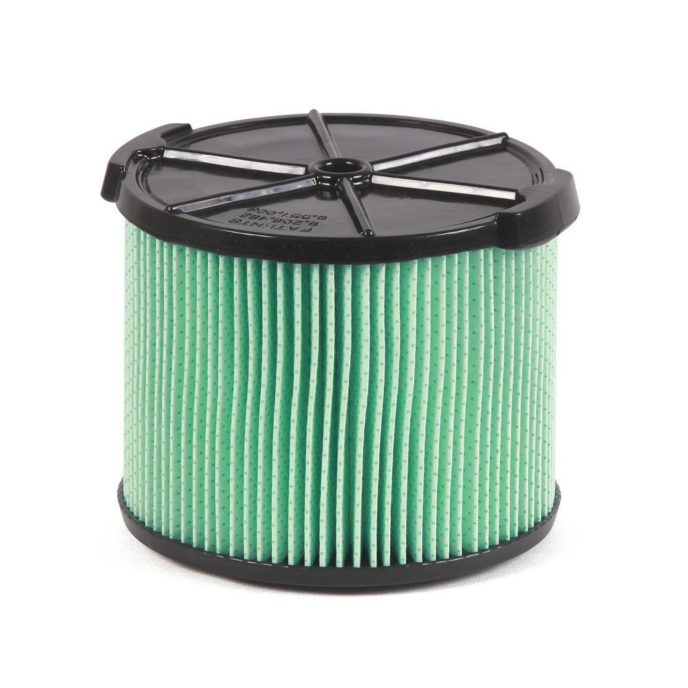 Filtre anti-allergènes 5 couches pour aspirateur de liquides et de poussières capacité de 11 à 17...