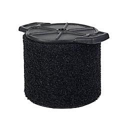 Filtre pour ramassage de débris humides pour les aspirateurs sec/humide 11 à 17 l (3 à 4,5 gal.)