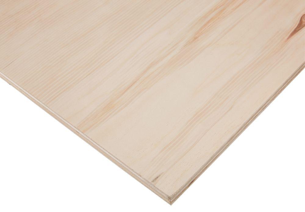 3/4 po x 4 pi x 8 pi Contreplaqué tremble bois franc PureBond