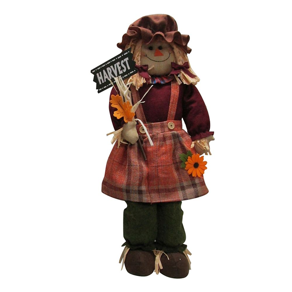 32 Inch Harvest Scarecrow Girl