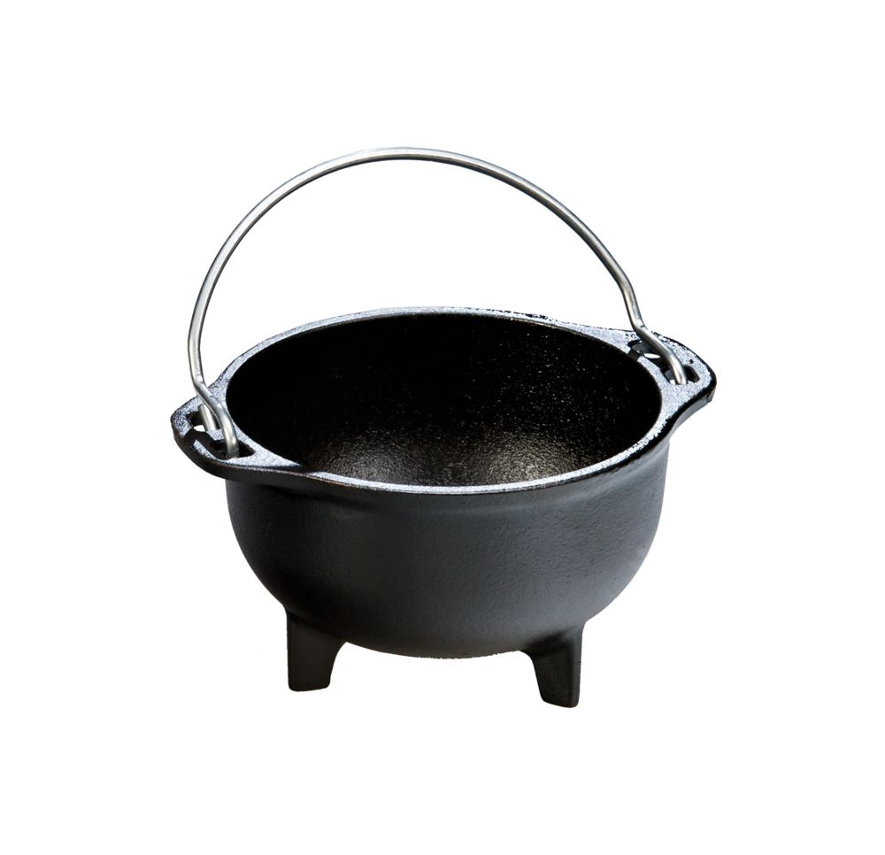 Lodge Heat-Treated Cast Iron Country Kettle 16 Ounce