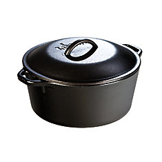 Lodge Logic Cast Iron Dutch Oven 5 Quart