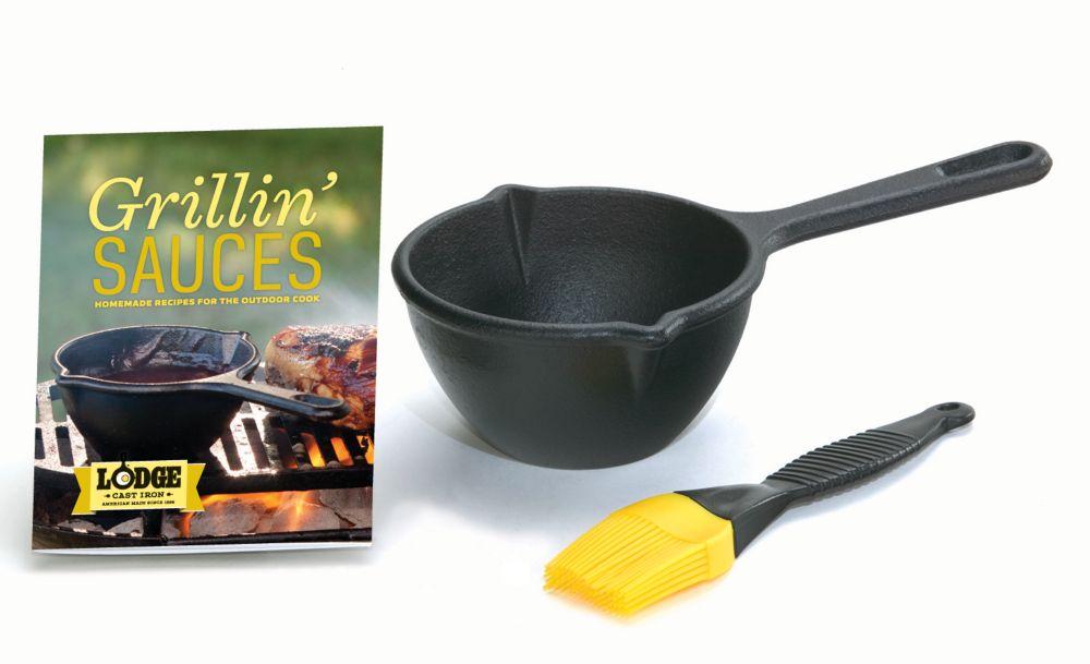 Lodge Cast Iron Grillin' Sauces Kit