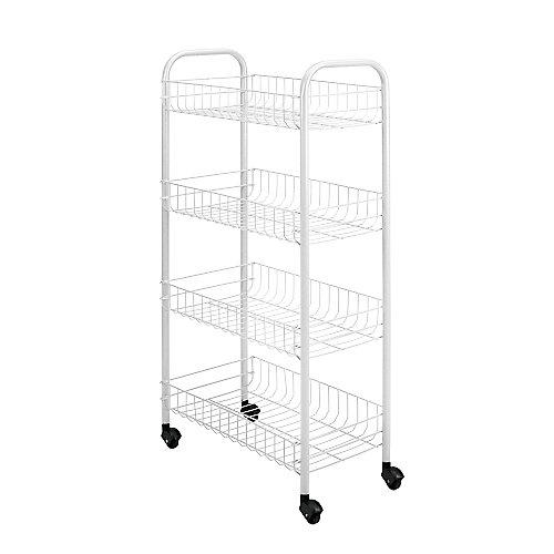 Pisa Rolling Cart 4-Tier 41 X 23 X 85 CM