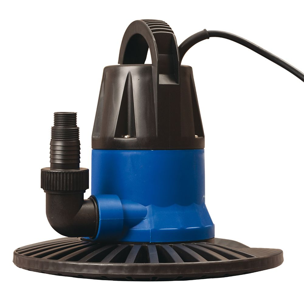 Dredger 1250 GPH In Ground Winter Cover Pump w/ Base