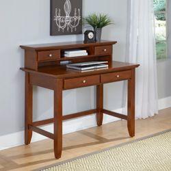 Home Styles Bureau de travail standard Chesapeake, 42po x 38,5po x 24po, marron