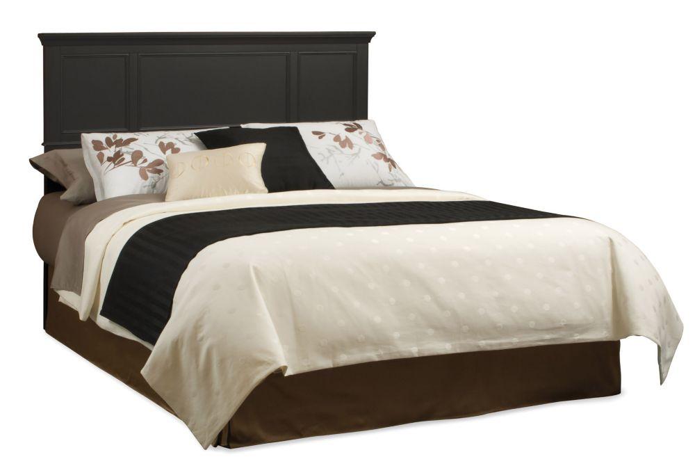 Home Styles Bedford Black Queen Headboard
