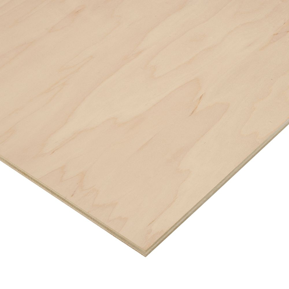 Birch Plywood Home Depot ~ Purebond ff vc inch feet
