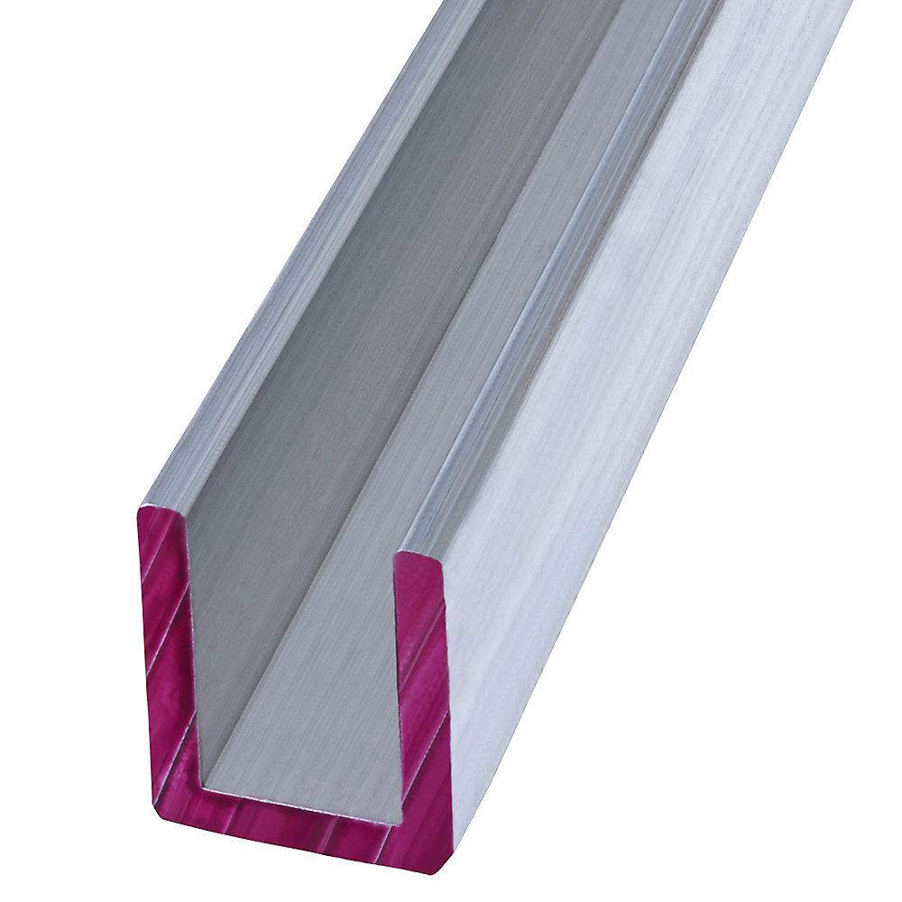 1/2X4 ft. Plywood Trim Alum Channel