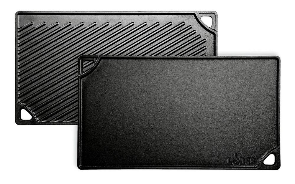 Lodge Logic Cast Iron Reversible Grill/Griddle 16.75 X 9.5 Inch