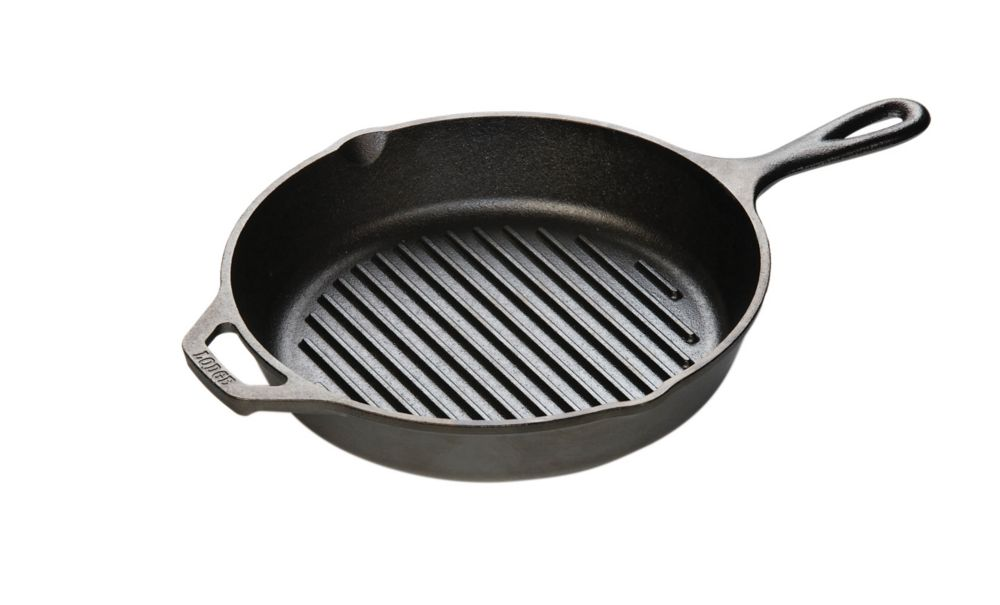 Lodge Lodge Logic Cast Iron Round Grill Pan 10.25 Inch