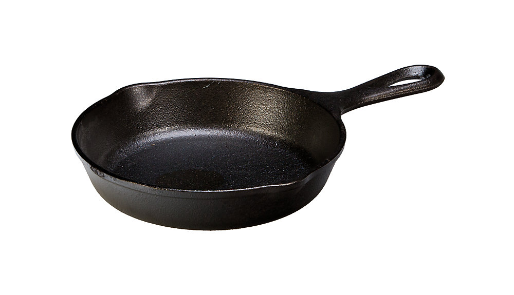 Heat-Treated Cast Iron Skillet 6.5-inch