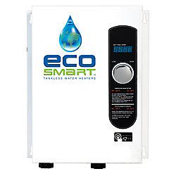 Ecosmart Chauffe-eau électrique sans réservoir automodulant 3,5g/min 18kW