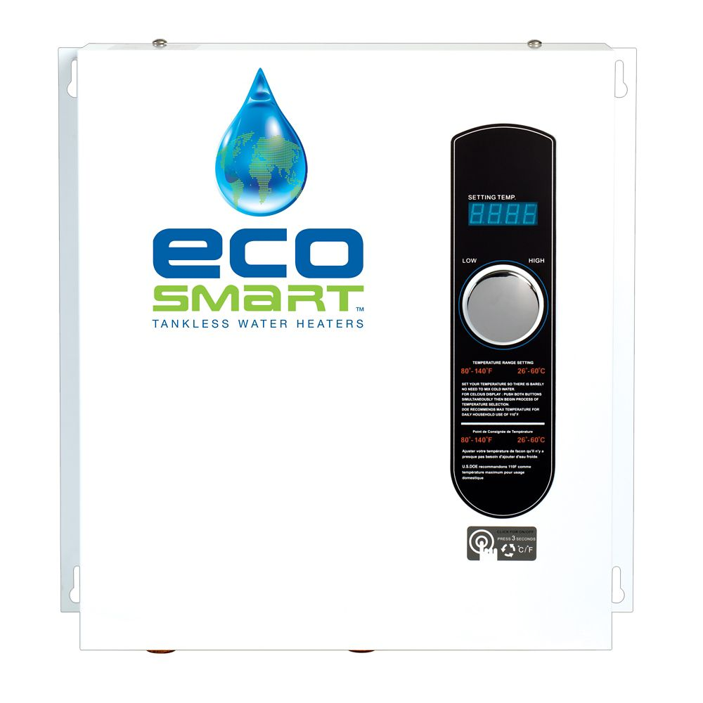Ecosmart 24 Kw Self Modulating Electric Tankless Water Heater