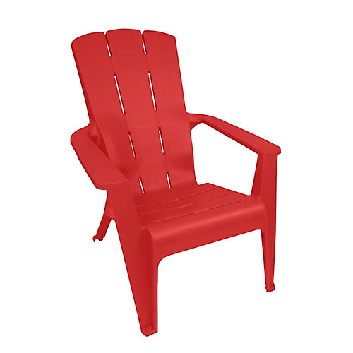 Muskoka Contour Chair in Red