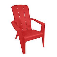 Adirondack Contour Chair, Red