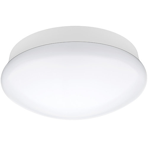 11-inch Integrated LED Flushmount Ceiling Light Fixture in Bright White - ENERGY STAR®