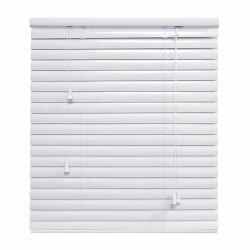 Hampton Bay HB 1.375 Inch Aluminum Blind 24x48 White