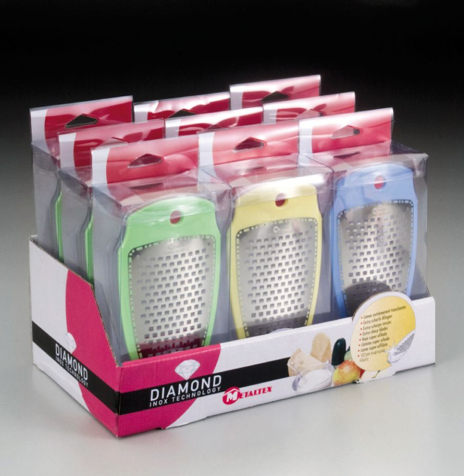 Stainless Steel Diamond Grater