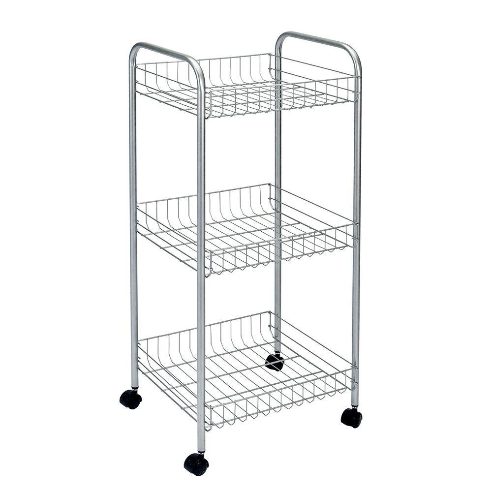 Polytherm - Montreal Rolling Cart 3-Tier 34 X 34 X 85 CM