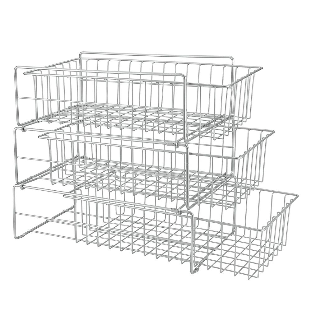 Polytherm Tris 27cm x 48cm x 44cm Under-Sink Sliding Baskets