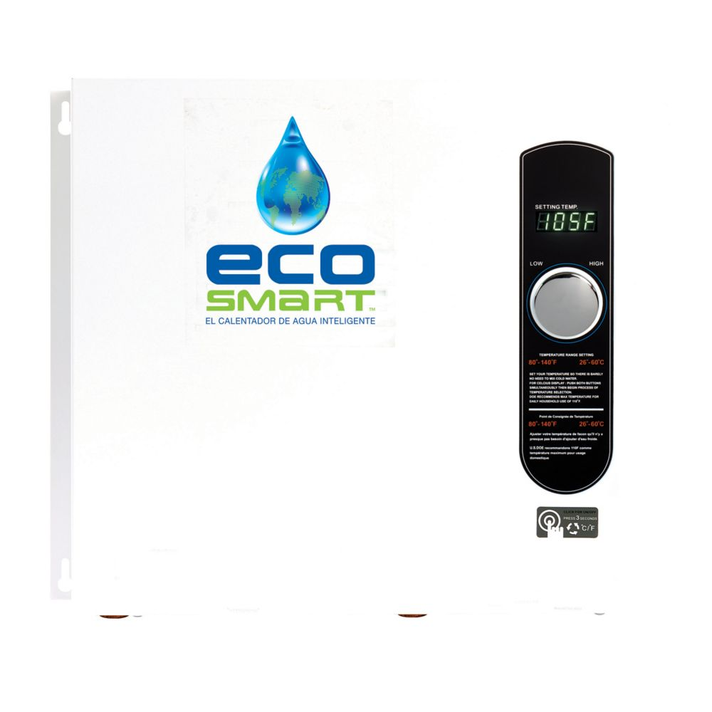 Ecosmart 36kw 240v Self Modulating Electric Tankless Water Heater