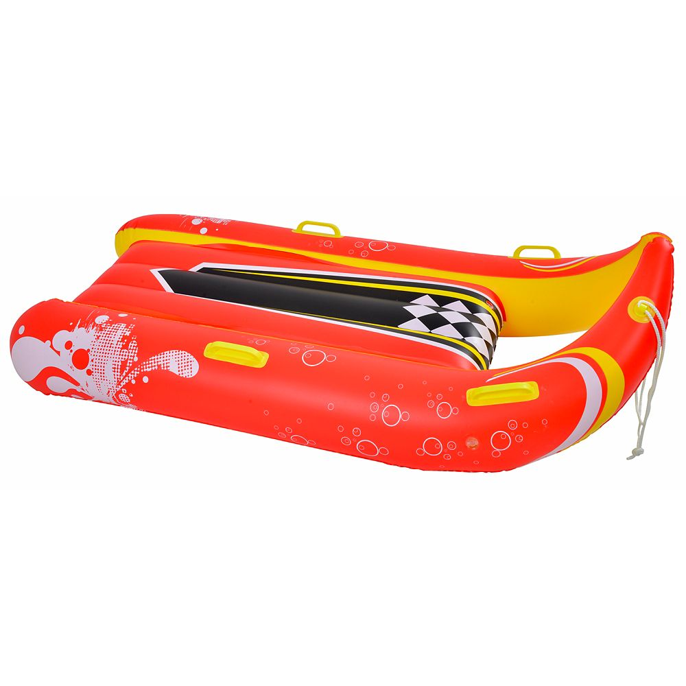 Power Glider 57-in 2-Person Inflatable Snow Sled