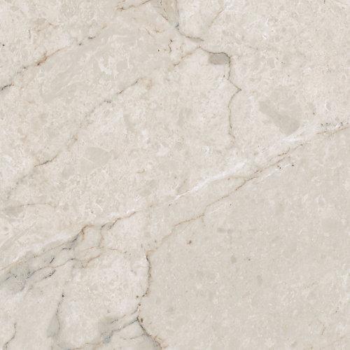 Verrouillage Carrara Blanc 12 po x 23,82 po Plancher de tuiles de vinyle de luxe (19,8 pi2 / caisse)