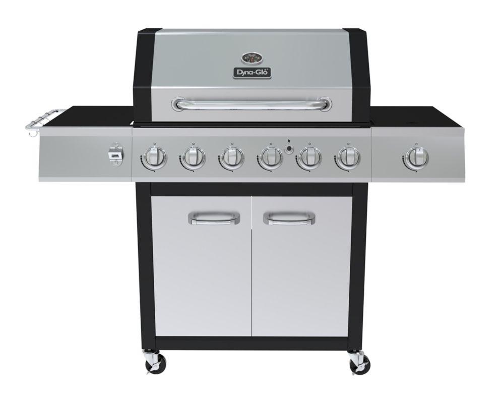 Dyna-Glo 6 Burner with Side Burner LP Gas Grill