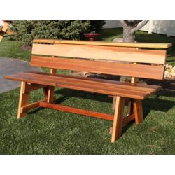 Gronomics Signature 6 ft. Western Red Cedar Bench