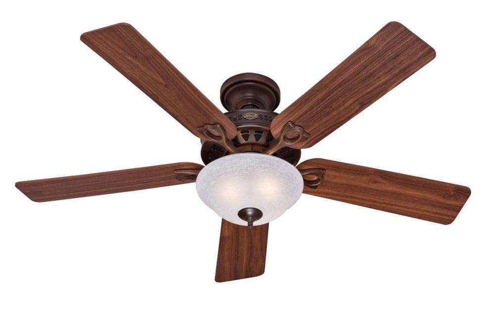 Astoria ventilateur de plafond de 52 po en nouveau bronze