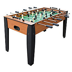 Hurricane - Table de baby-foot 137 cm (54 in) - léger merisier