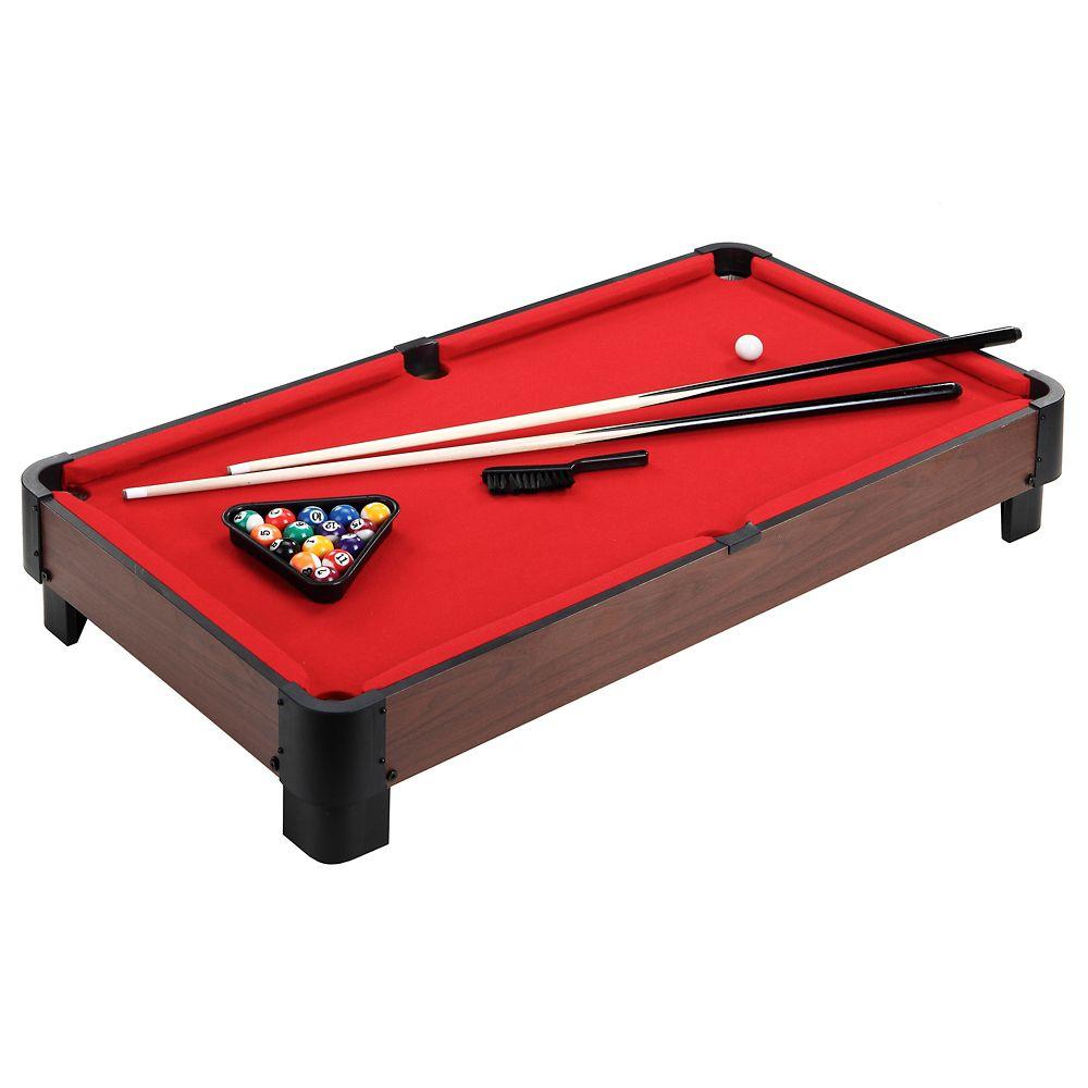 Striker 40-in Table Top Pool Table