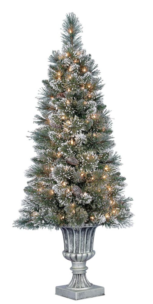 4 Feet Sparkling Potted Tree