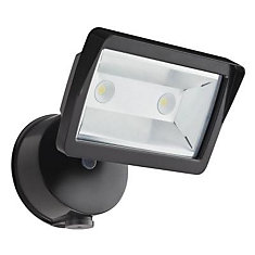 Dusk To Dawn Outdoor LED Wall Mount Mini Single Flood Light
