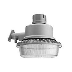 Outdoor LED Wall / Post Mount Area Security Light   Grey