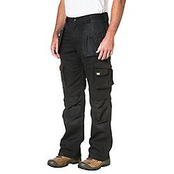 Caterpillar (CAT) Black Trademark Trouser  Inch 32-40