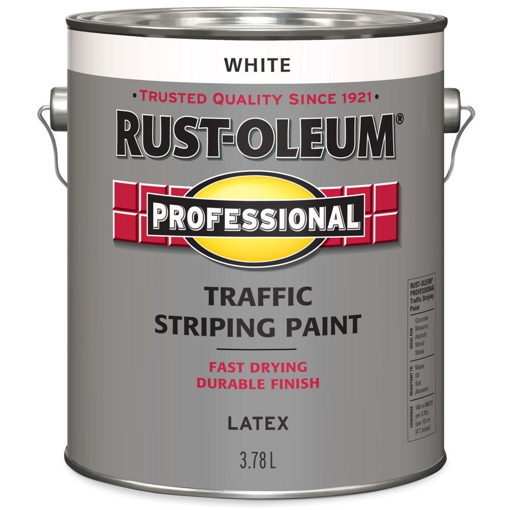 Professionnel Peinture De Lignage Pour Circulation - Blanc 3.78L