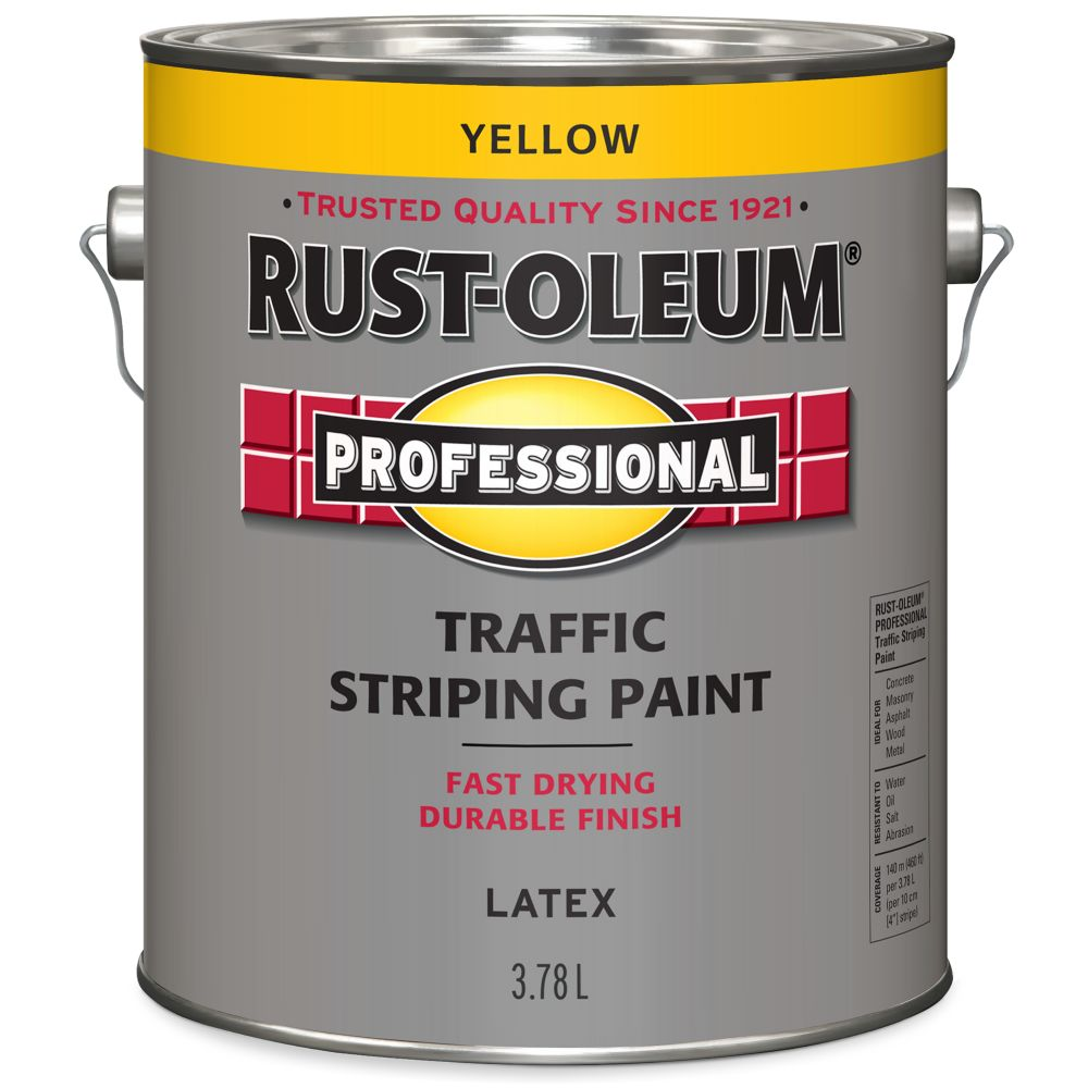 Professionnel Peinture De Lignage Pour Circulation - Jaune 3.78L