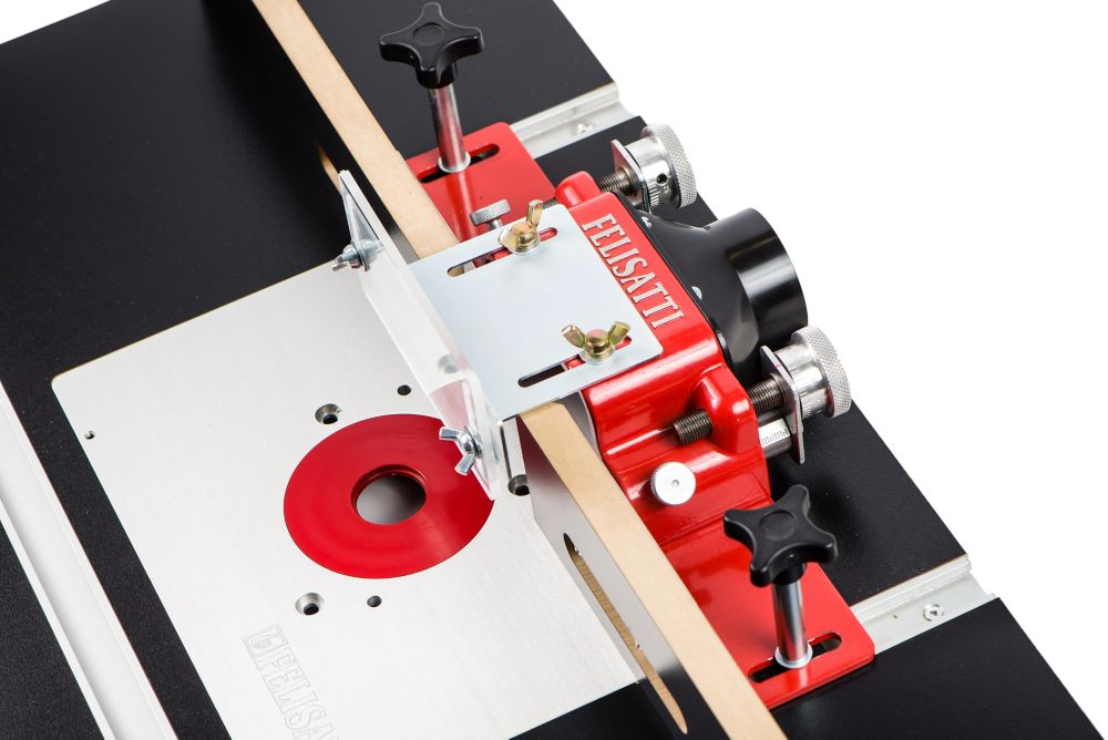 Premium Router Table Fence With Dual Micro-Adjustment